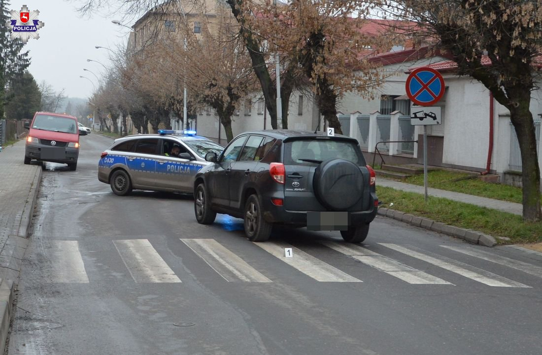 68 178601 Ulica Sienkiewicza i kolejny potrącony pieszy na przejściu dla pieszych