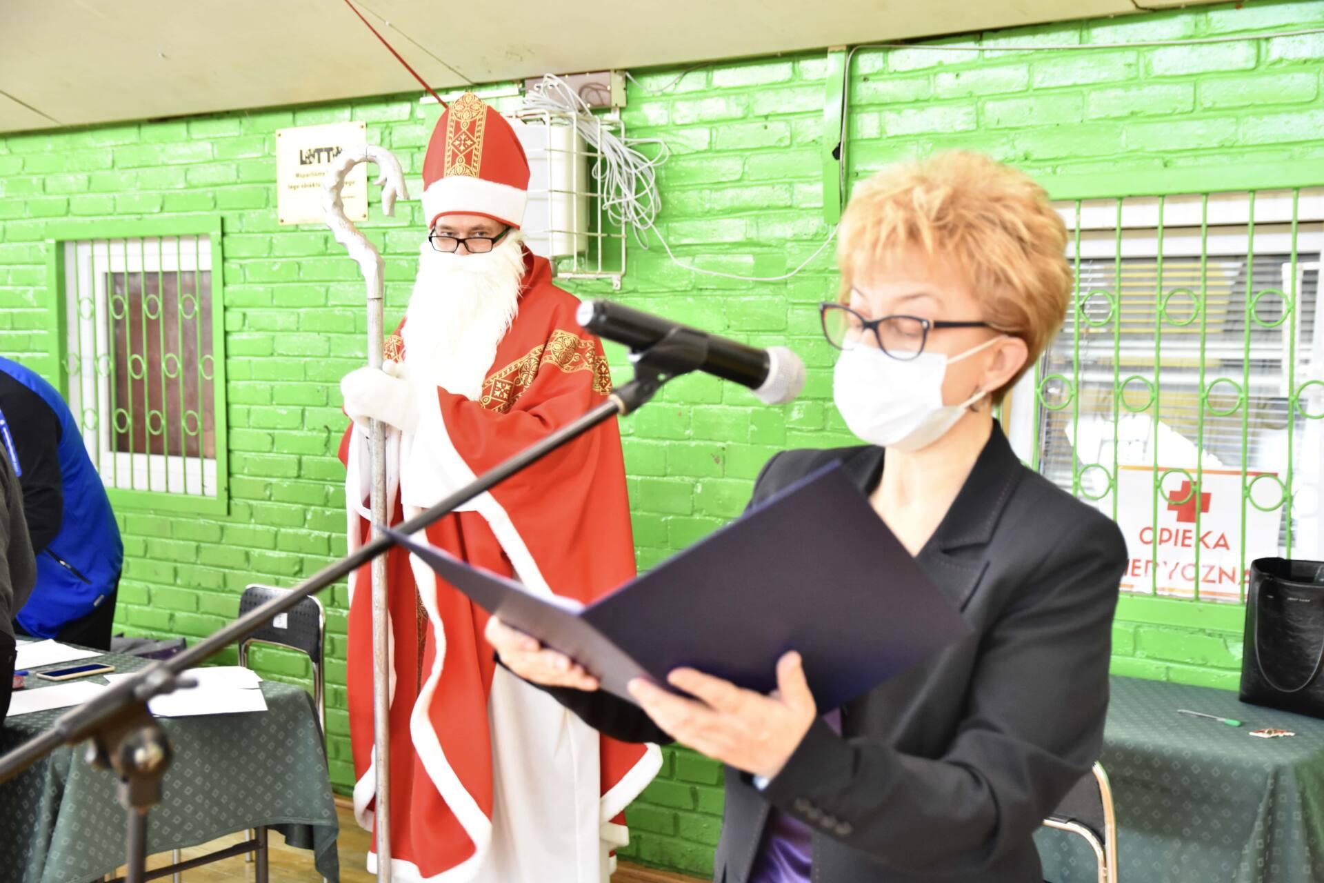 dsc 3683 Jubileuszowa Halówka z Mikołajem