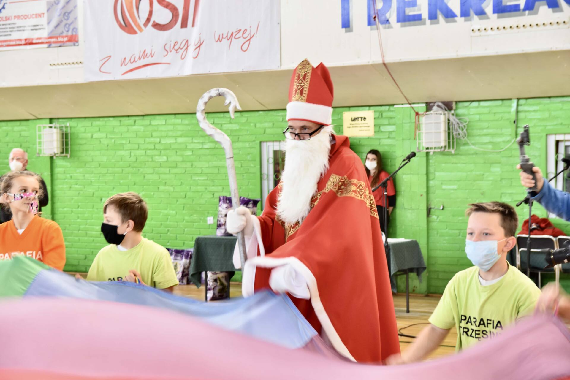 dsc 3782 Jubileuszowa Halówka z Mikołajem