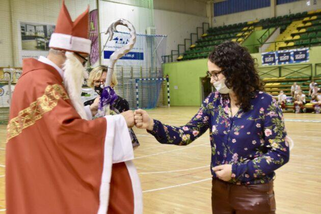 dsc 4088 Jubileuszowa Halówka z Mikołajem