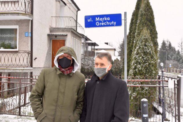 dsc 4342 ZAMOŚĆ: Jest ulica imienia Marka Grechuty [ZDJĘCIA]