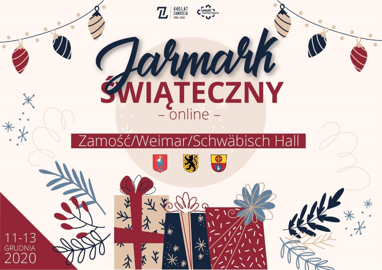 jarmark 1 Miasto Zamość zaprasza na Jarmark Świąteczny online 2020