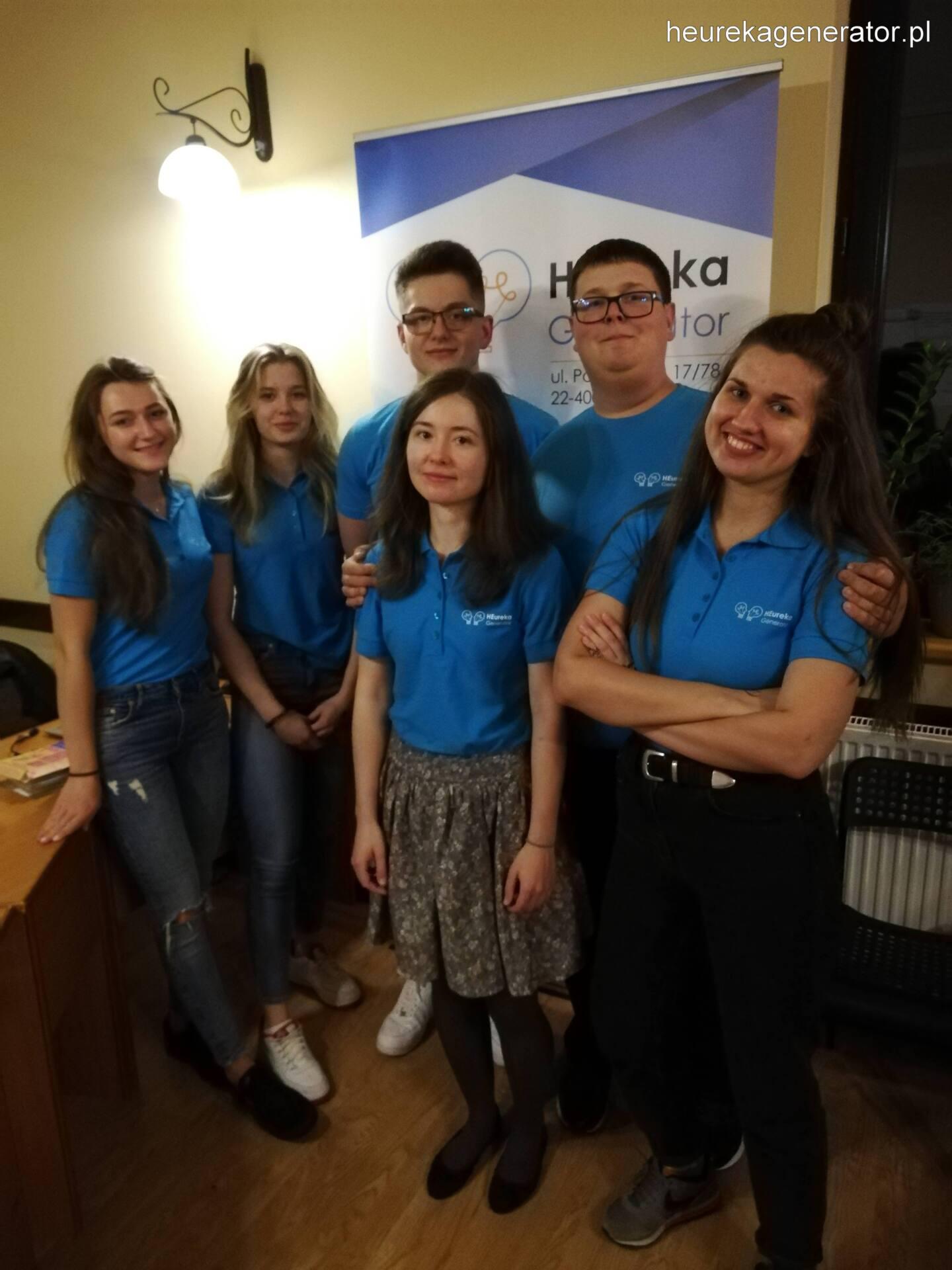 01 Zamojskie Stowarzyszenie HEureka Generator kończy realizację międzynarodowego projektu