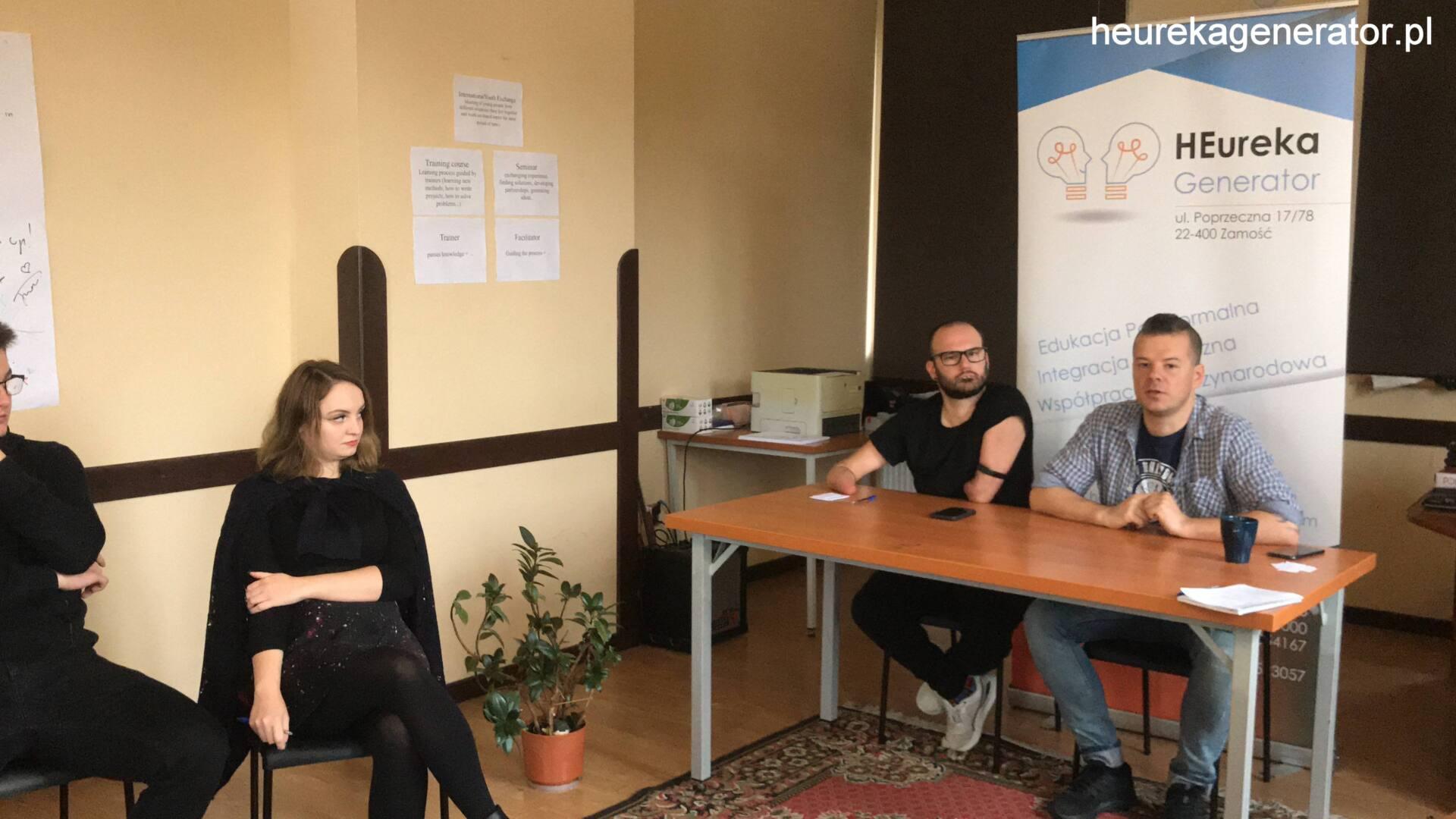04 Zamojskie Stowarzyszenie HEureka Generator kończy realizację międzynarodowego projektu
