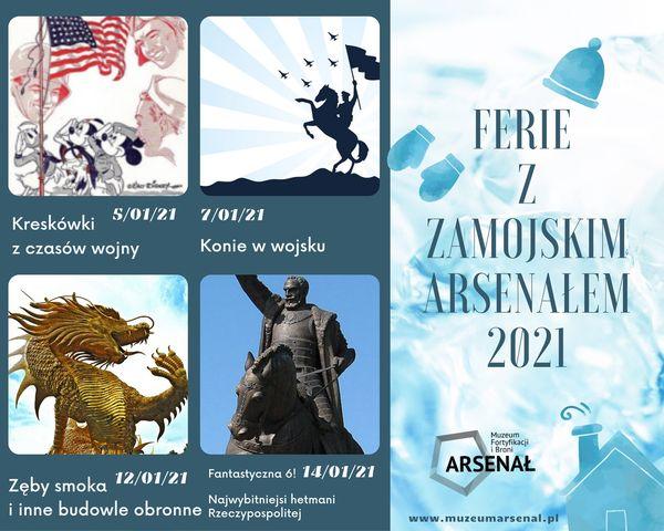 135797476 228801982159820 6476589928170923495 o ZAMOŚĆ: Ferie z Muzeum. Nie będzie czasu na nudę.