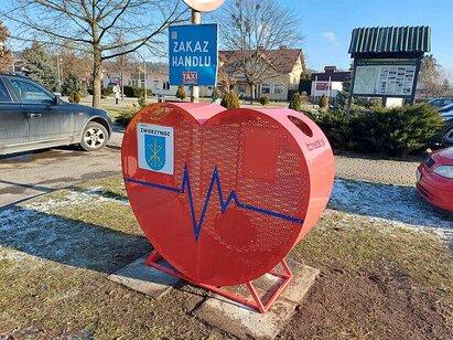 411x0 serce Kolejne serce na nakrętki stanęło w naszym regionie