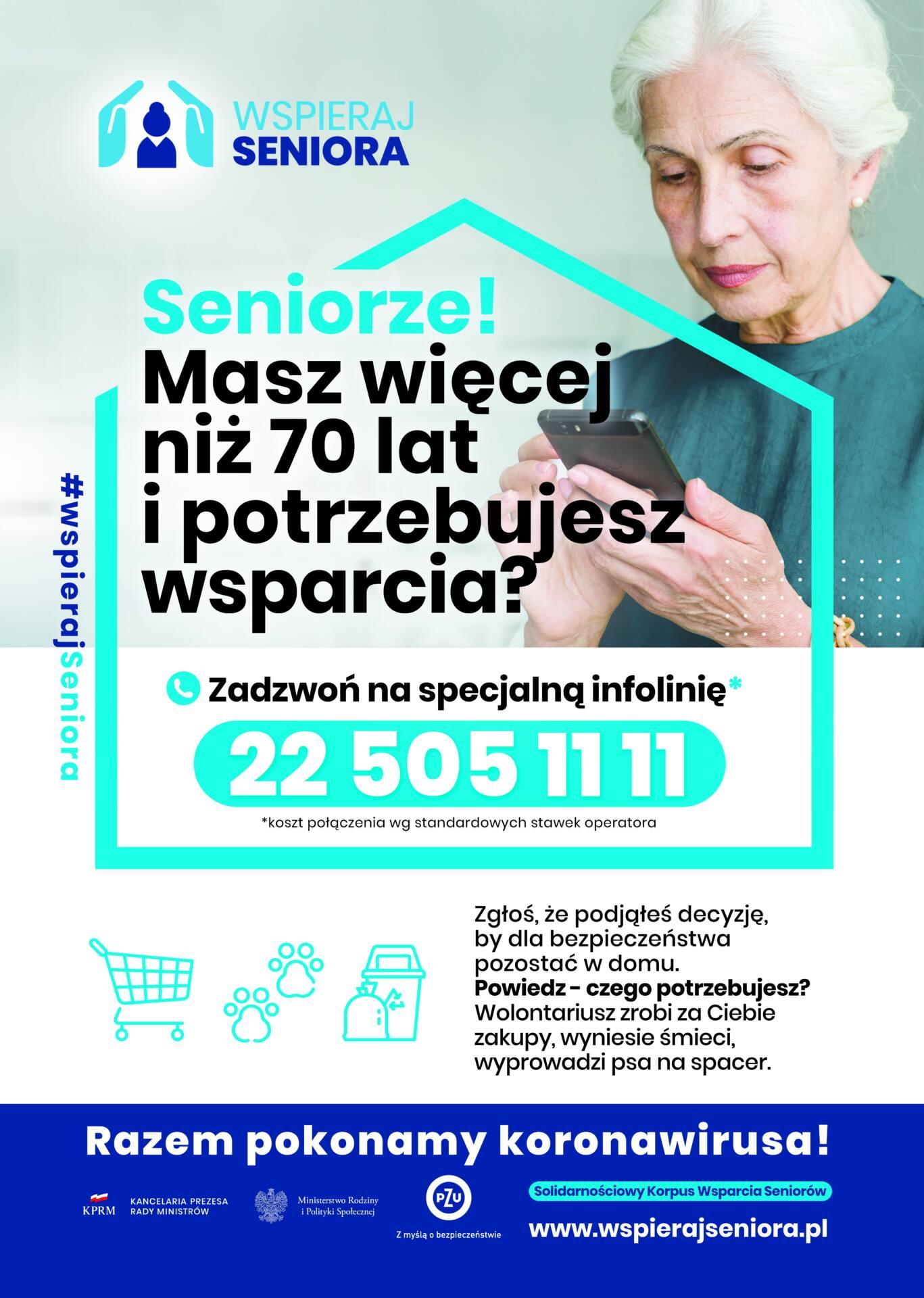 """6265 Zamość: Kontynuacja programu """"Wspieraj Seniora"""""""
