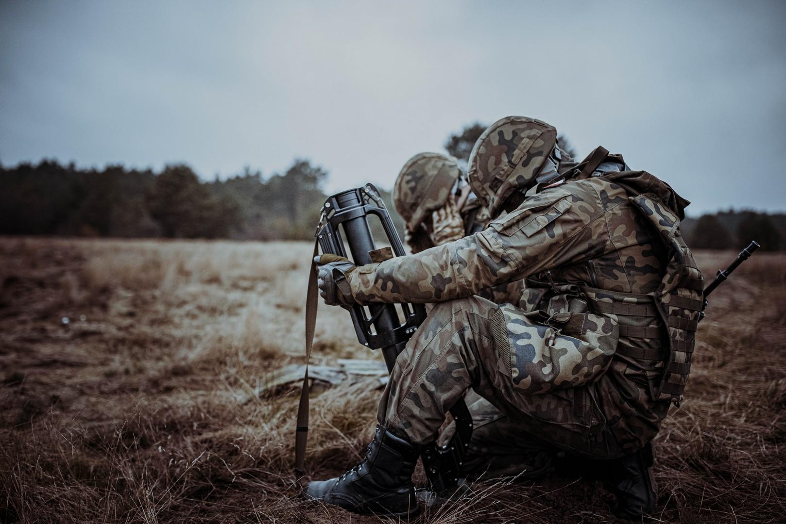 ferie z wot 2021 3 Ferie w mundurze. 67 ochotników rozpoczęło szkolenie