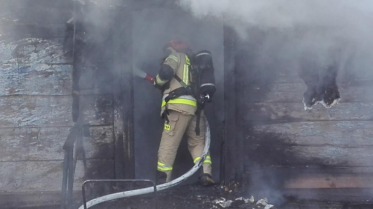 img 20210118 135357 GM. STARY ZAMOŚĆ: Tragiczny pożar domu. Nie żyje mężczyzna