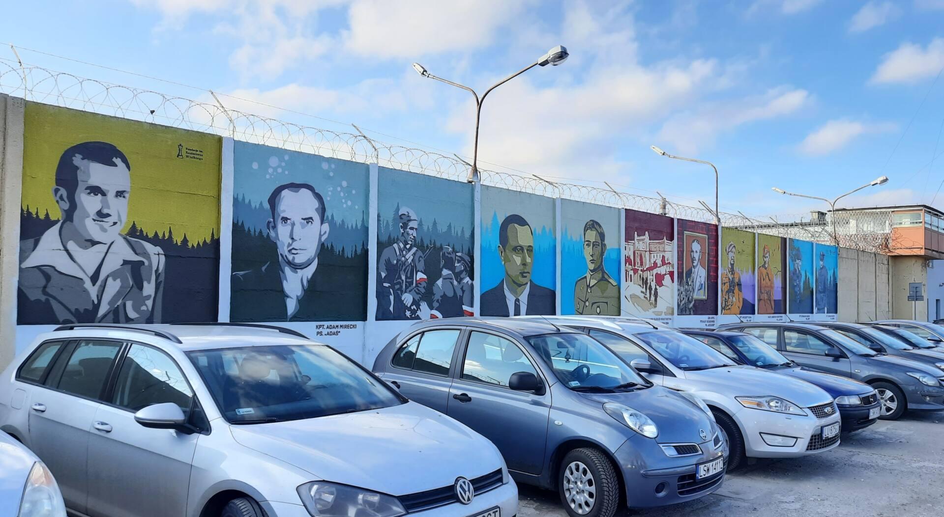 lublin 2 Na Lubelszczyźnie powstały 3 murale ku czci Żołnierzy Wyklętych. Jeden z nich w Zamościu