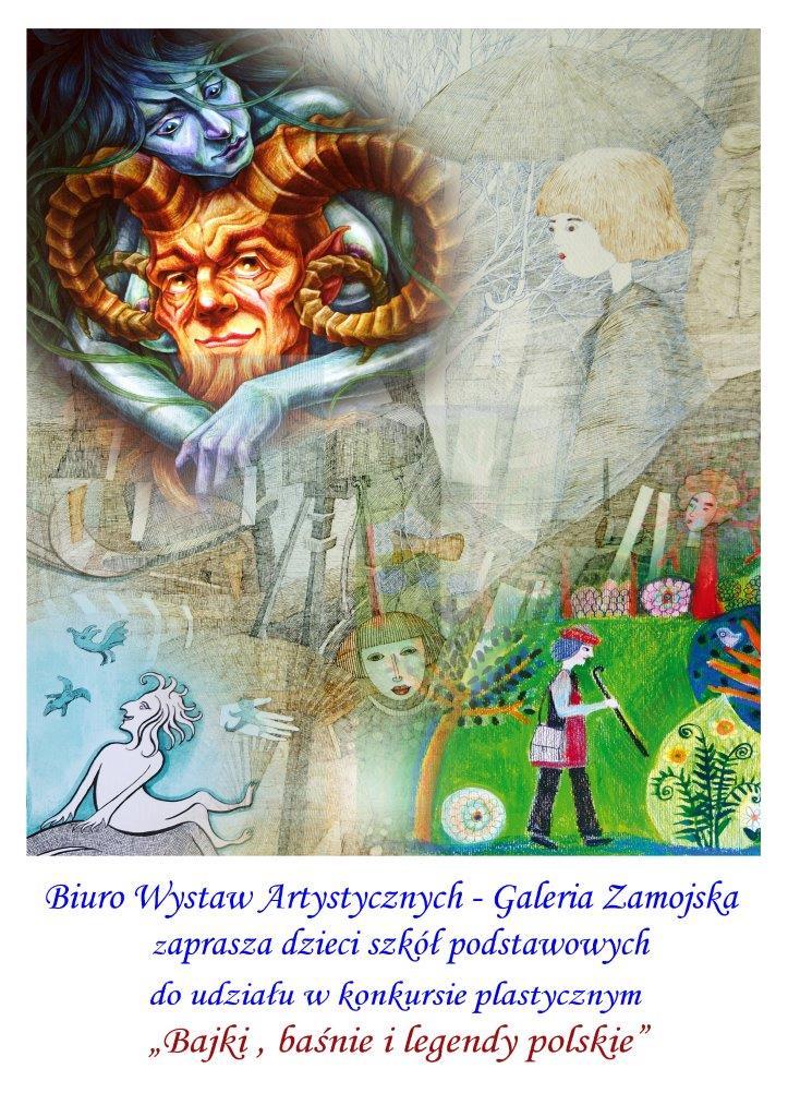 plakat: BWA Galeria Zamojską