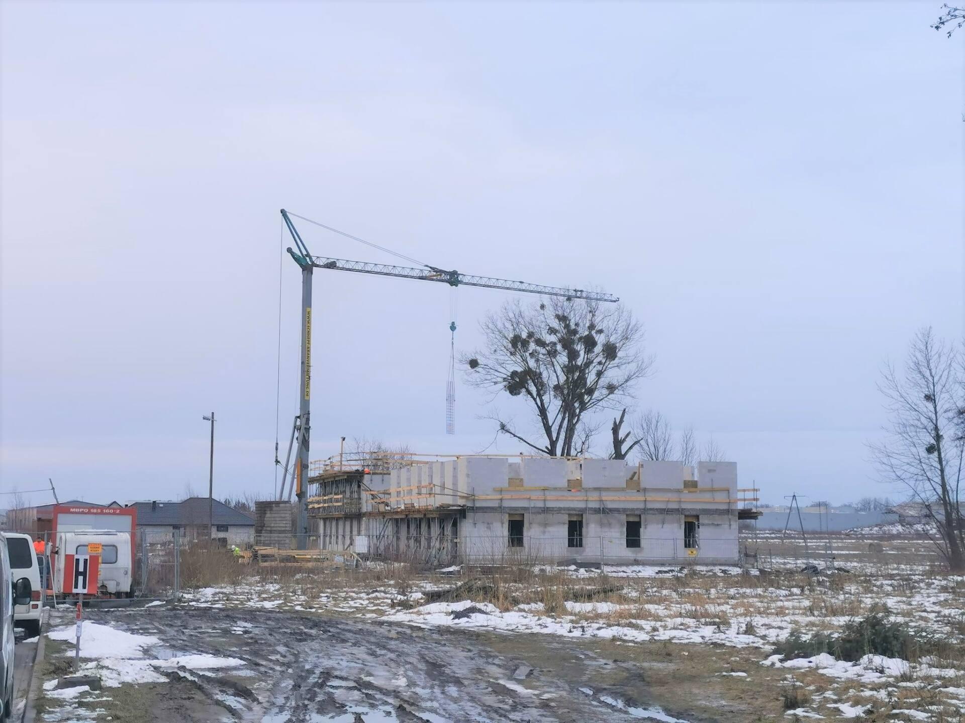 145768291 250061823367169 8924636982243441386 o ZAMOŚĆ: Będą nowe mieszkania. Budowa postępuje [ZDJĘCIA, PLANY MIESZKAŃ]