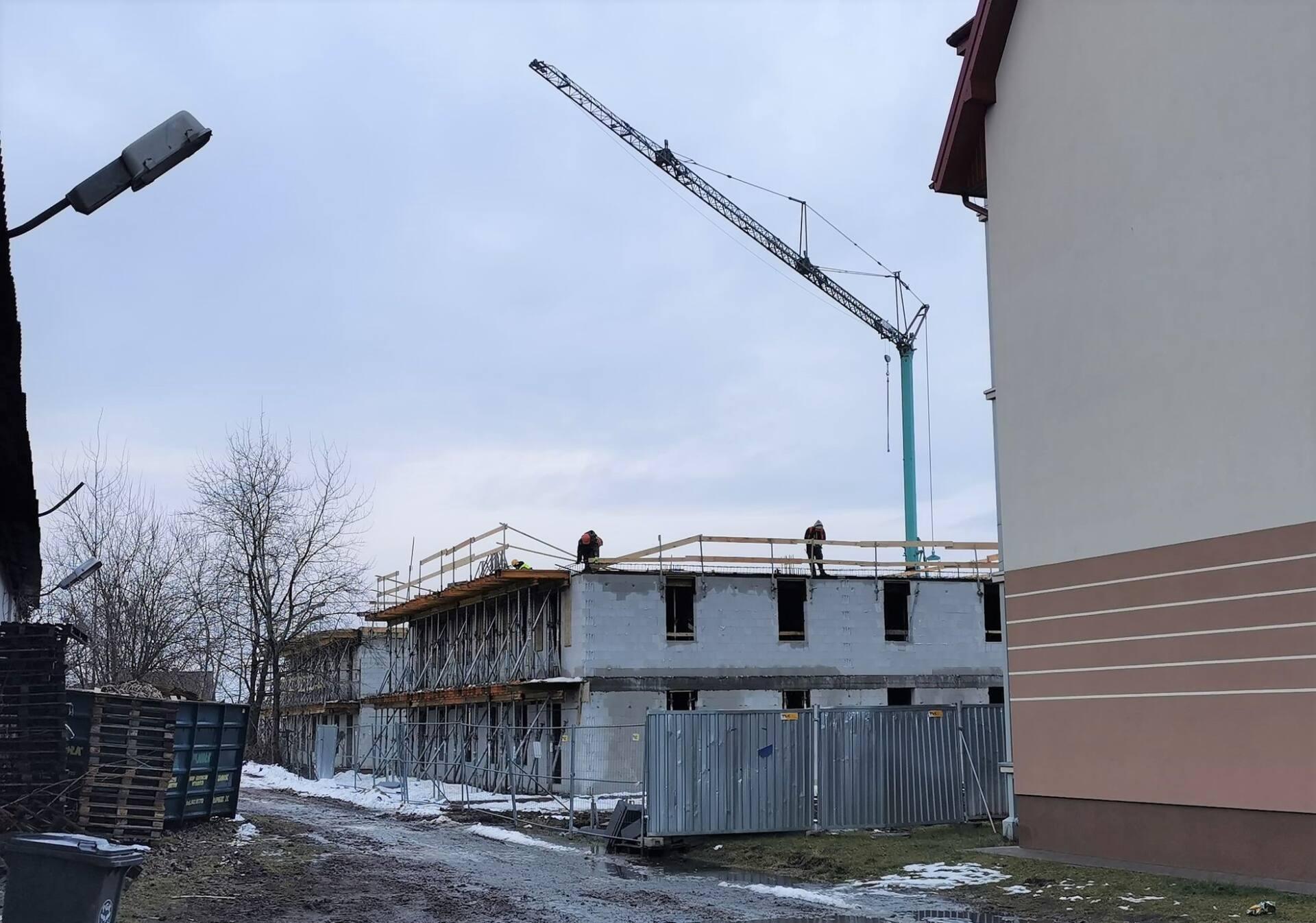 146014246 250061816700503 2629152103938876923 o ZAMOŚĆ: Będą nowe mieszkania. Budowa postępuje [ZDJĘCIA, PLANY MIESZKAŃ]