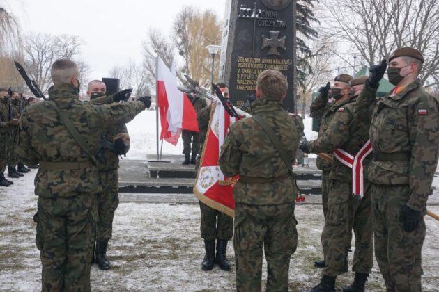 2 lbot przysiega zamosc 14022021 1 ZAMOŚĆ: Przysięga Terytorialsów w rocznicę powstania Armii Krajowej [ZDJĘCIA]