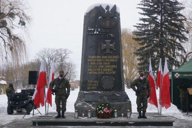 2 lbot przysiega zamosc 14022021 5 ZAMOŚĆ: Przysięga Terytorialsów w rocznicę powstania Armii Krajowej [ZDJĘCIA]