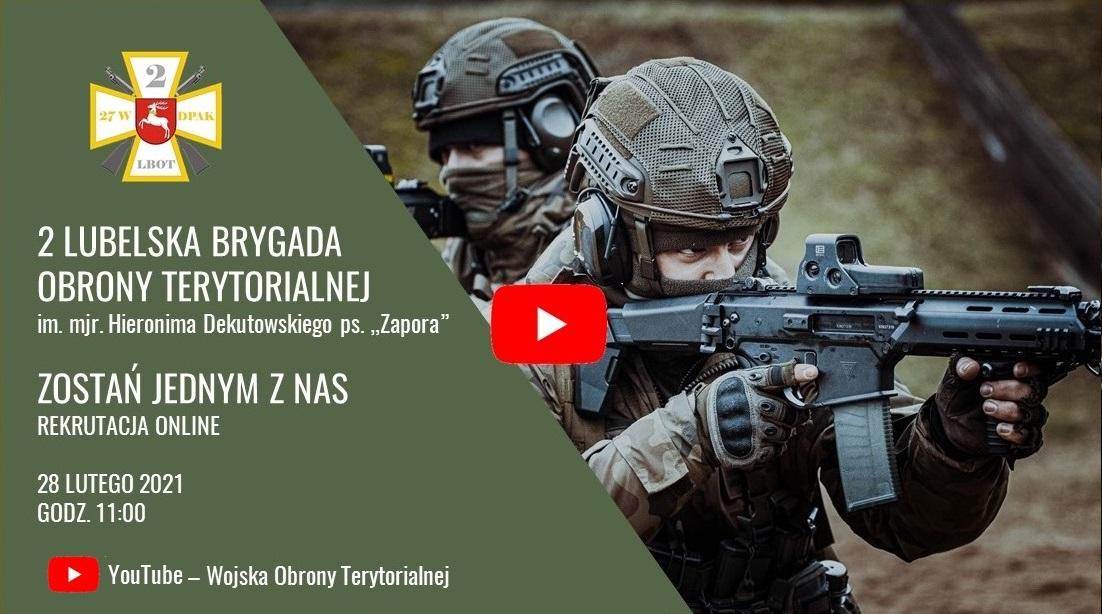 2 lbot zostan jednym z nas youtube wot Uproszczone zasady naboru do terytorialnej służby wojskowej.