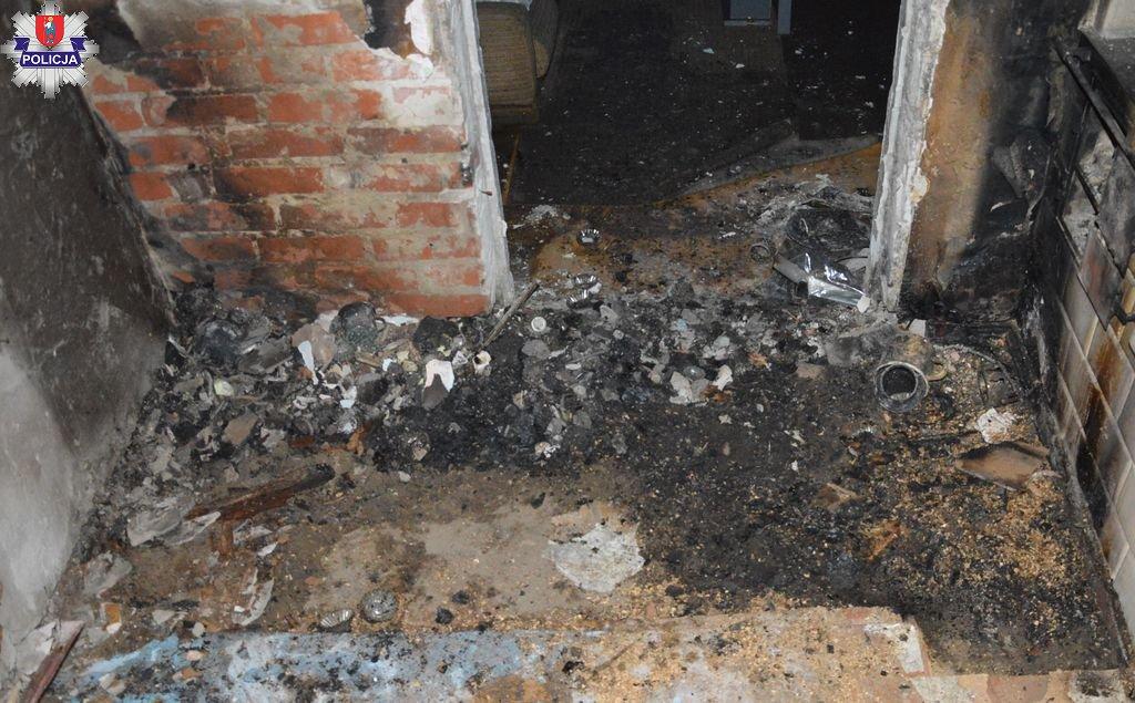 361 180683 Kolejny w tym roku pożar domu i kolejna ofiara śmiertelna