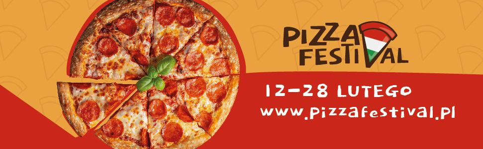 baner pizza festival Trwa Pizza Festival. Biorą w nim udział także zamojskie lokale