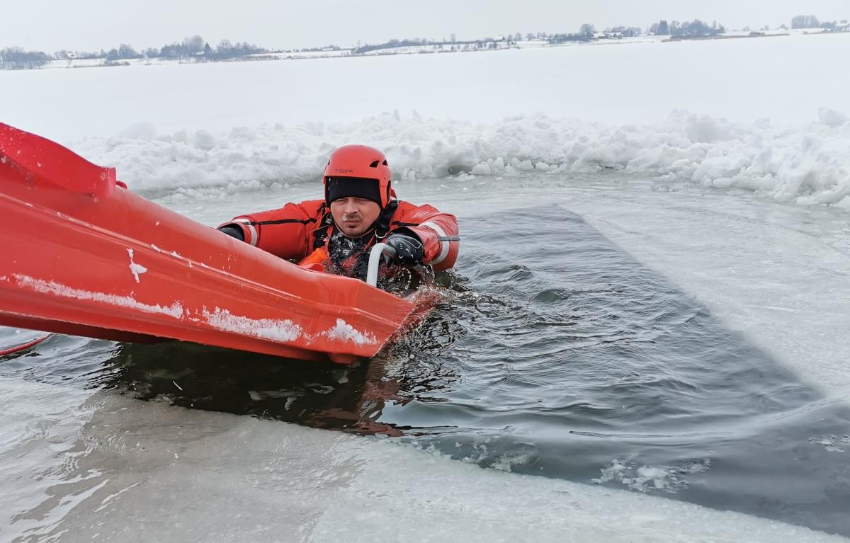 cwicz 1 Gdy załamie sią lód.