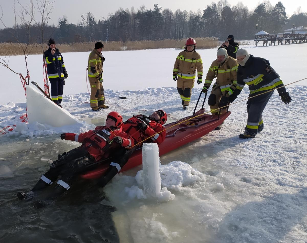 cwicz 2 Gdy załamie sią lód.