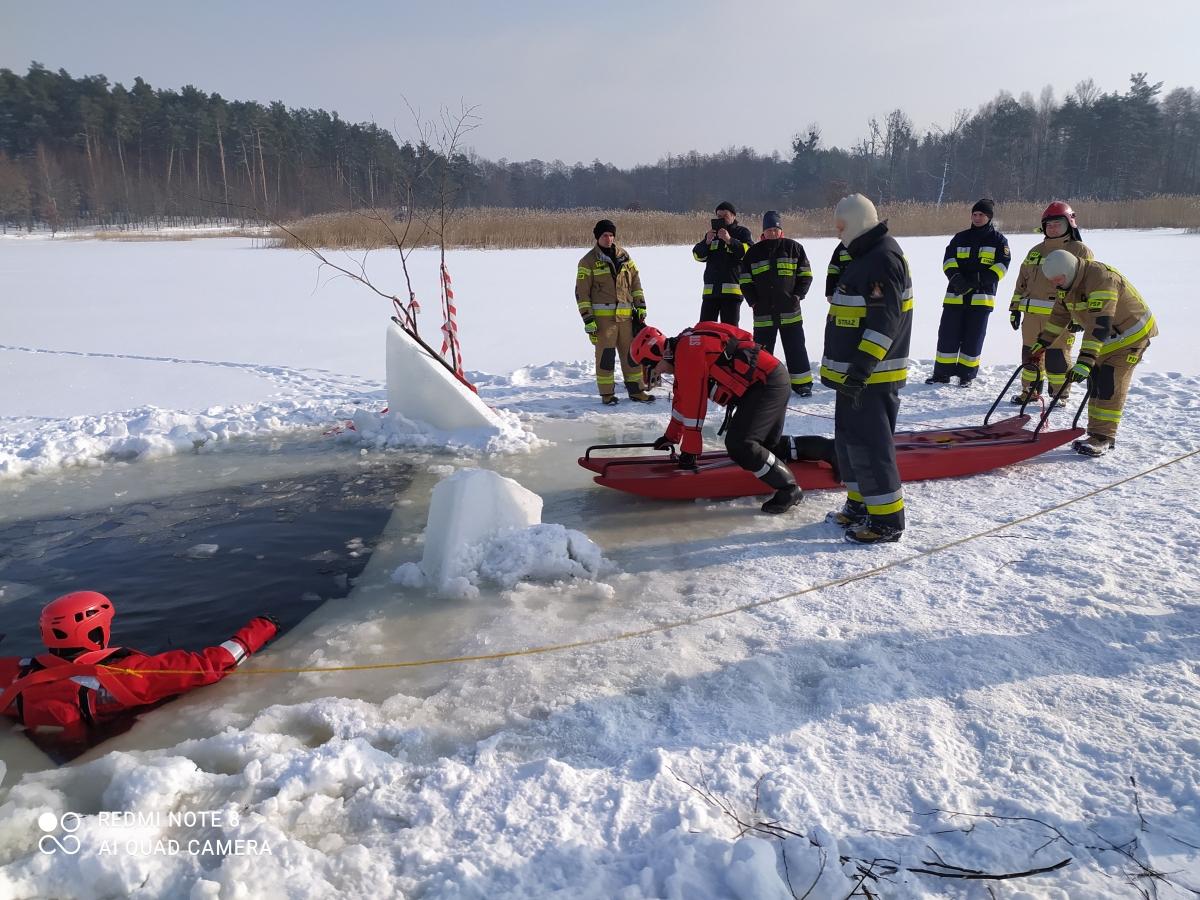 cwicz 3 Gdy załamie sią lód.