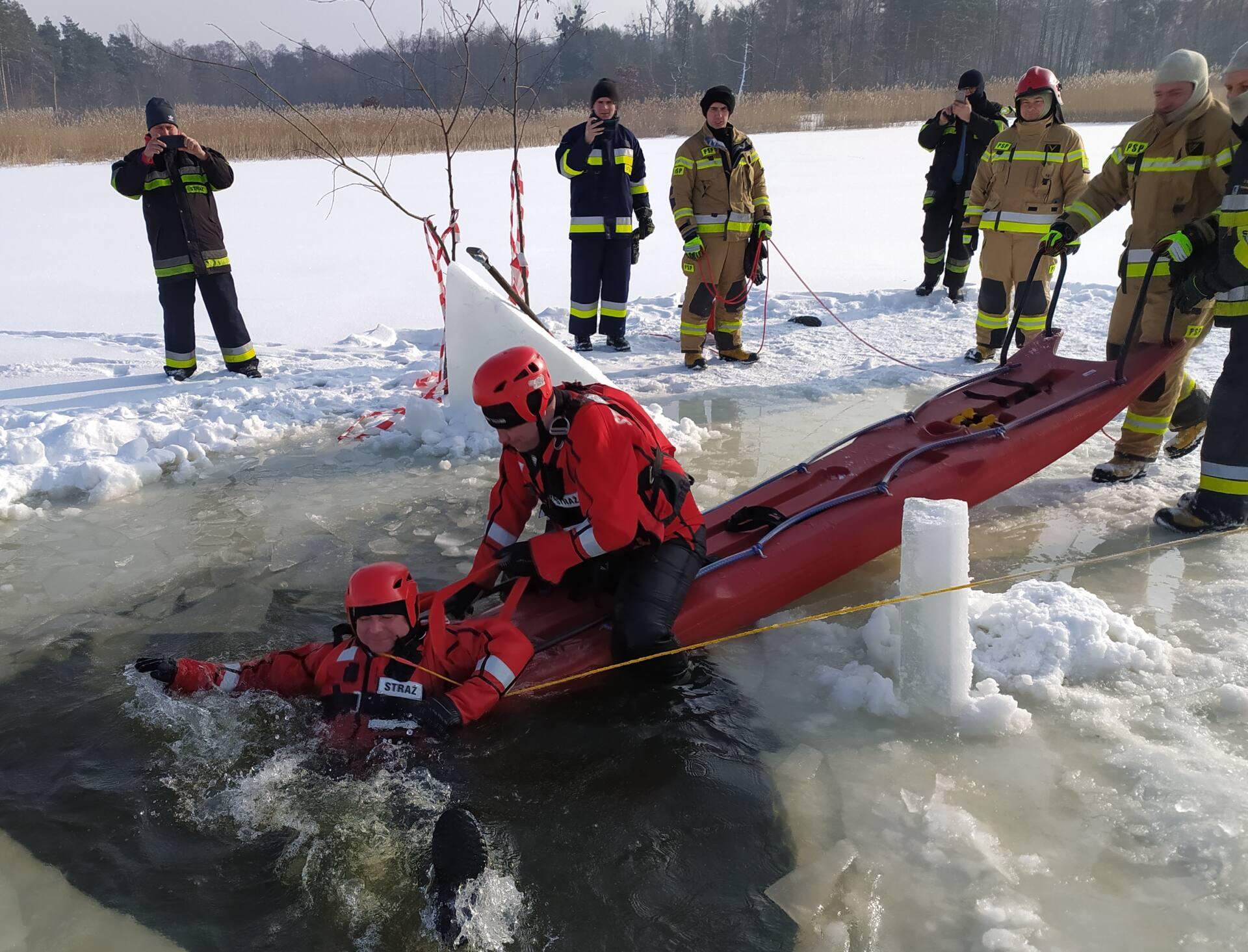 cwicz 4 Gdy załamie sią lód.