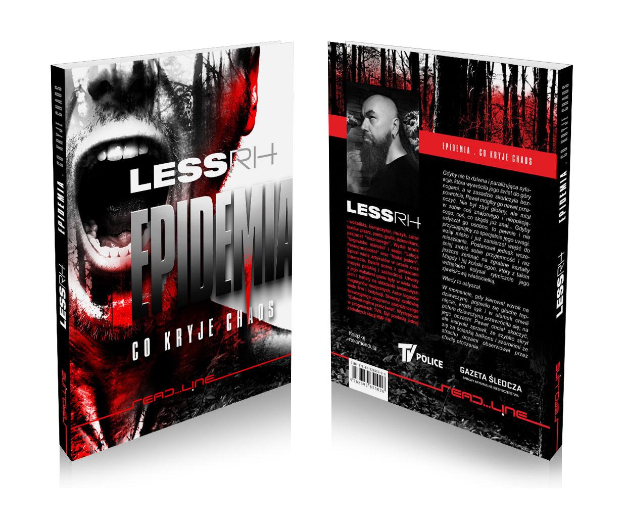 """epidemia cover 2 """"Epidemia. Co kryje chaos"""" Lessa RH"""