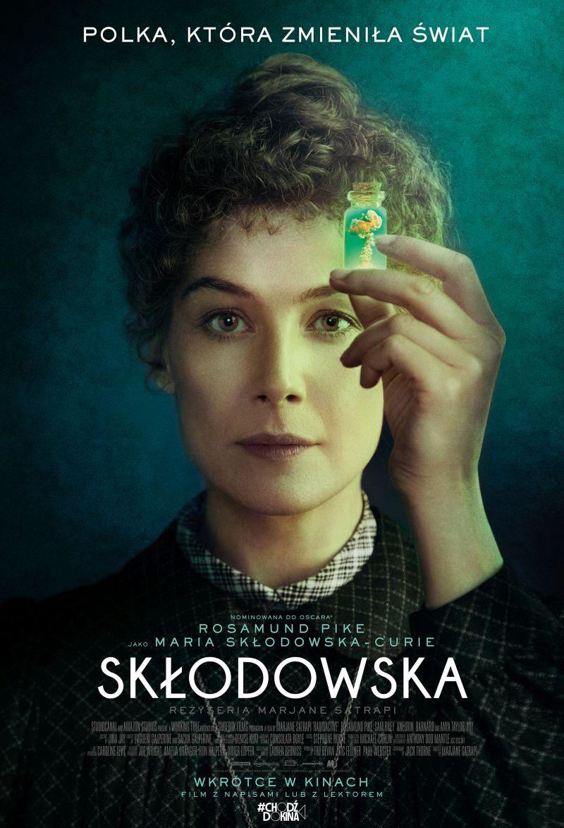sk odowska plakat wkr tce w kinach 2 800 Kobiecy wieczór w Stylowym z filmem SKŁODOWSKA