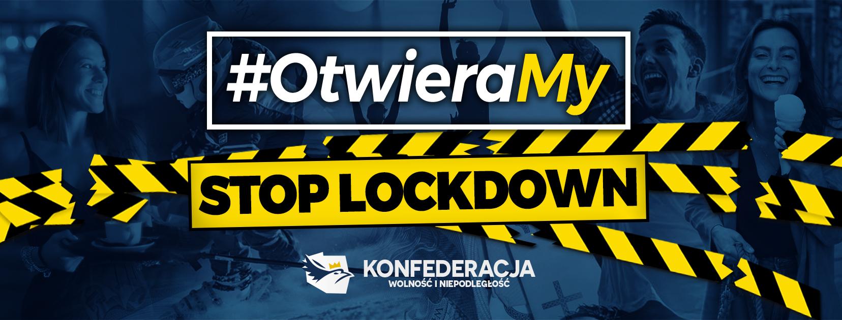 stoplockdown Konferencja prasowa Konfederacji - Zamość #OtwieraMY