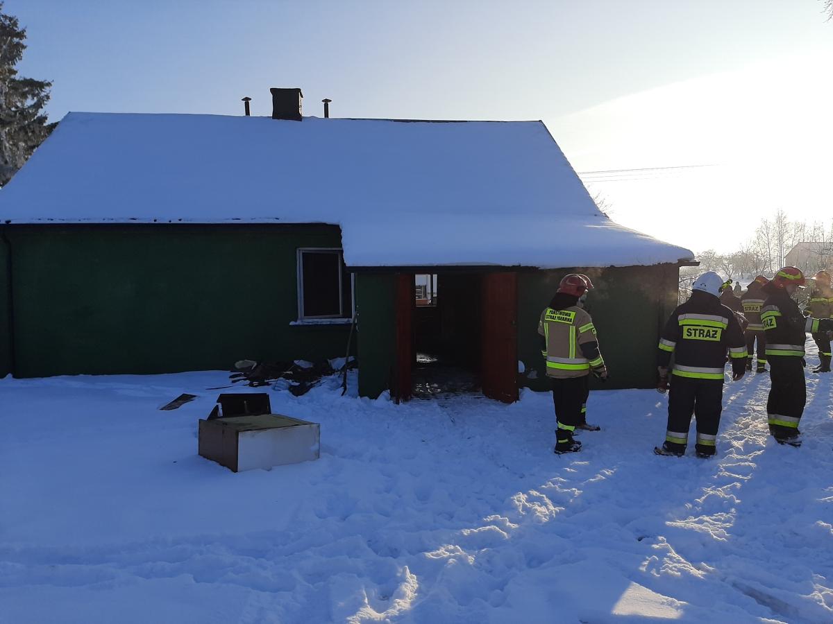wolica snitycka 1 Kolejny w tym roku pożar domu i kolejna ofiara śmiertelna