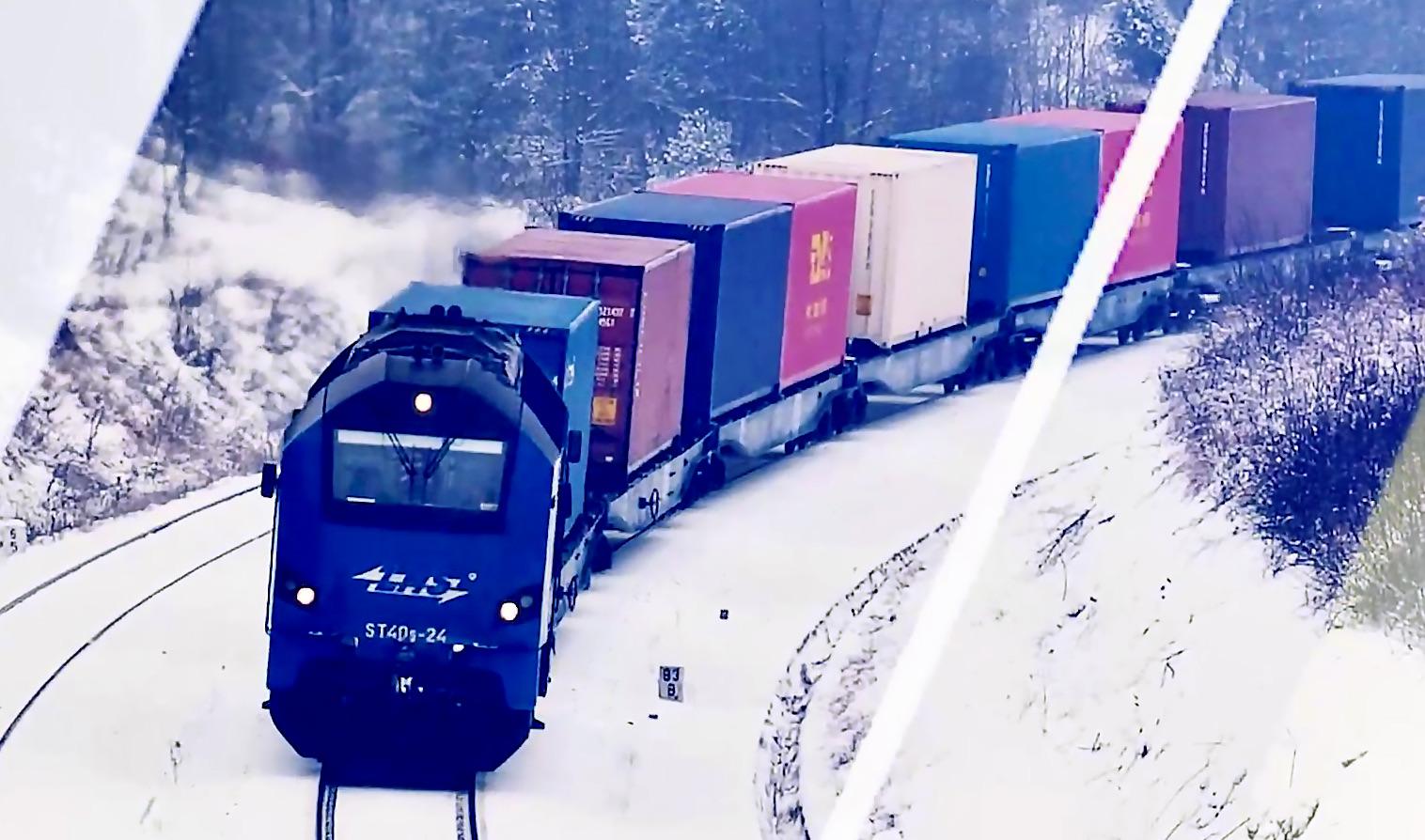 zdjecie pkp lhs pociag intermodalny 2 LHS uruchomiła kolejne połączenie z Chongqing
