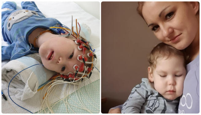 content 41506620 75f0 4b70 9bb6 0da1539113fb Bez operacji w USA Kubuś po prostu się udusi! Zrozpaczona mama chłopca prosi o pomoc