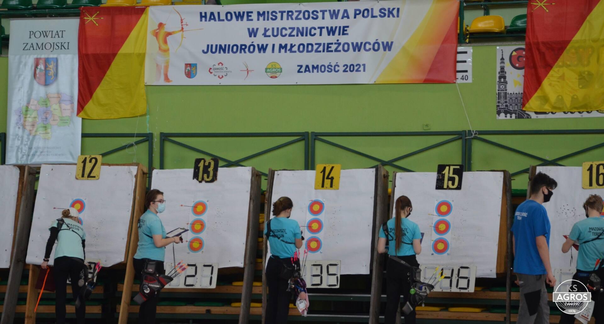 dsc 0018 Zamość był gospodarzem Halowych Mistrzostw Polski w Łucznictwie