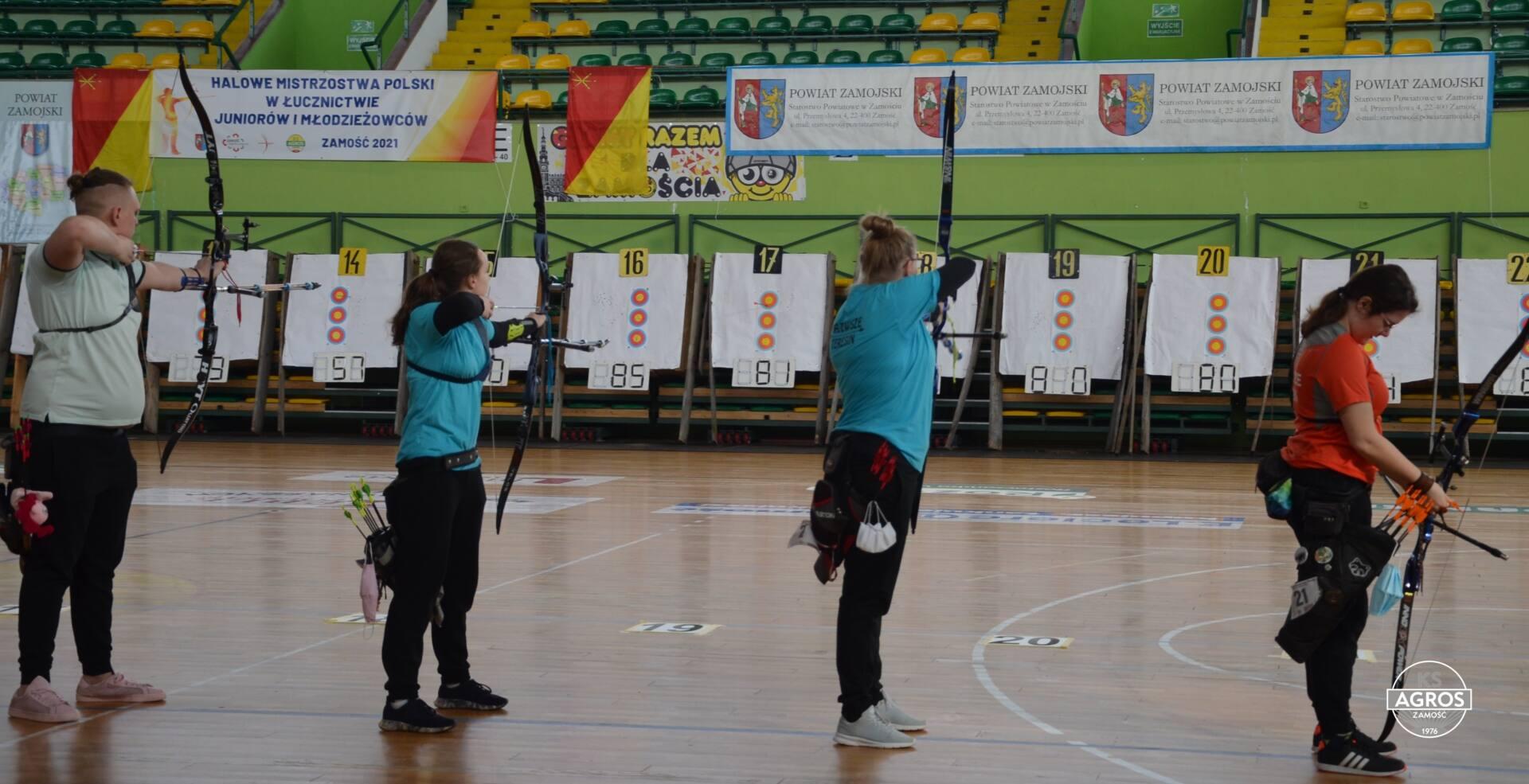 dsc 0019 Zamość był gospodarzem Halowych Mistrzostw Polski w Łucznictwie