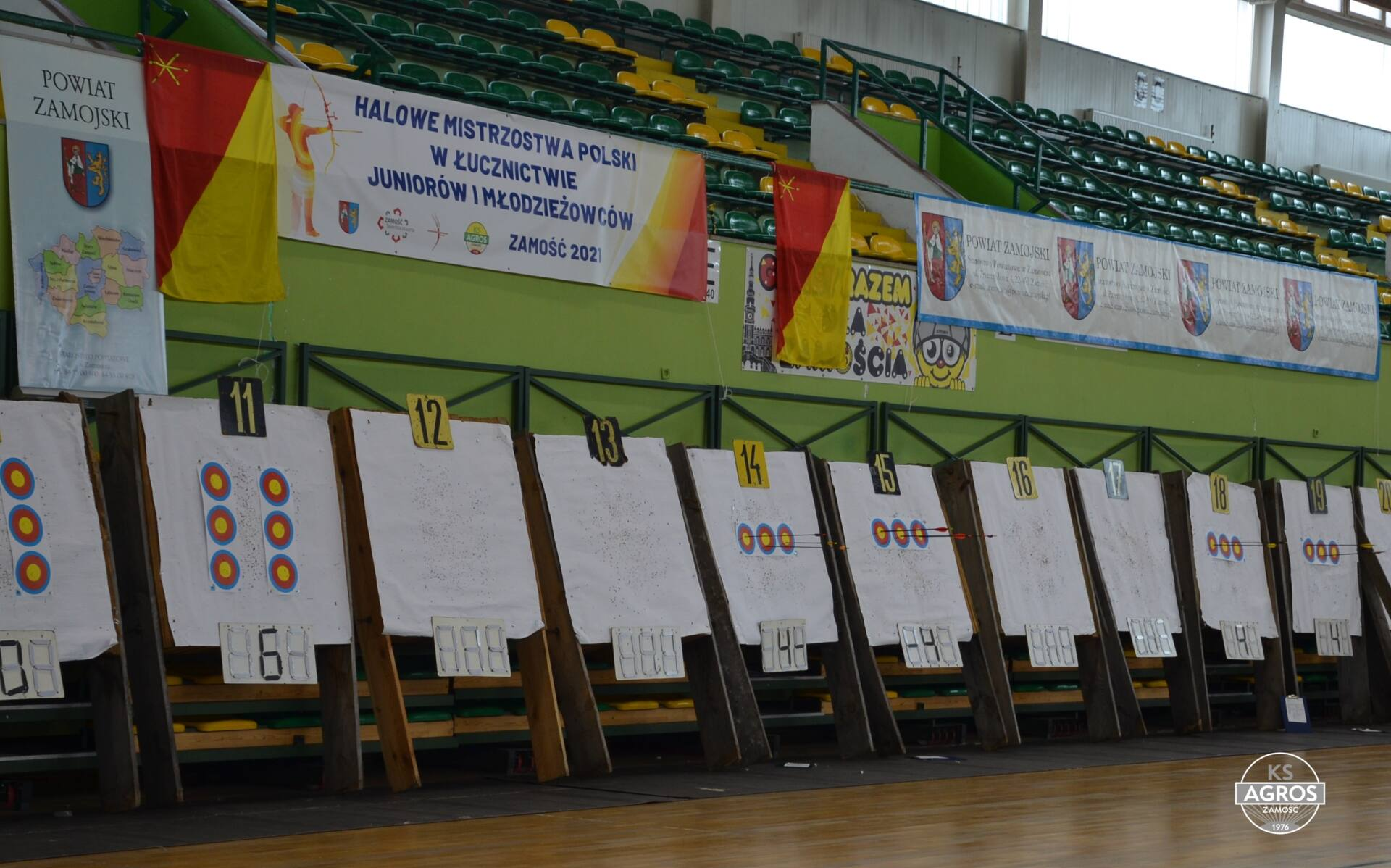 dsc 0097 Zamość był gospodarzem Halowych Mistrzostw Polski w Łucznictwie