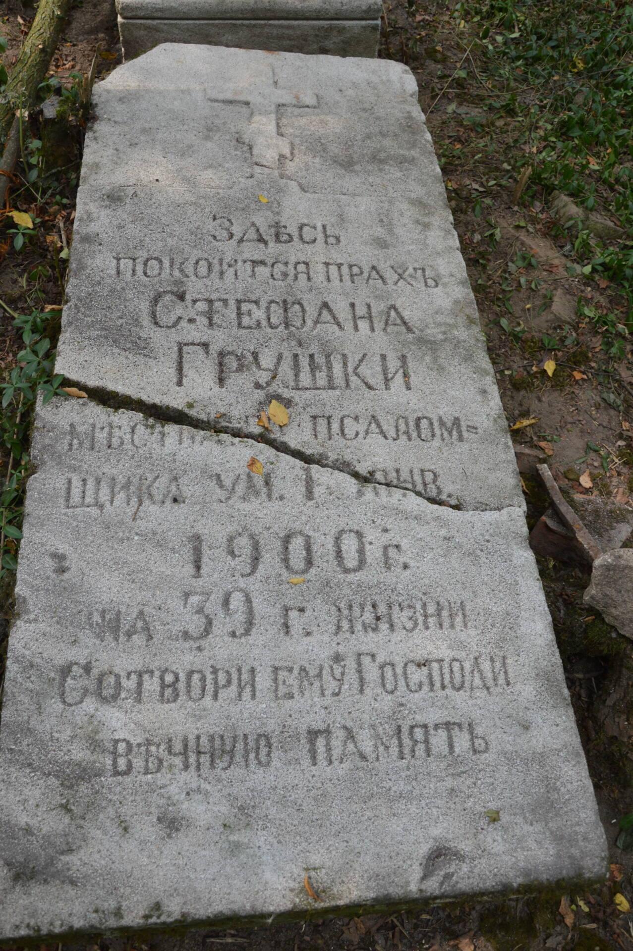 dsc 3393 Zadbajmy o zapomniane cmentarze Zamojszczyzny. Zaproszenie do współpracy.