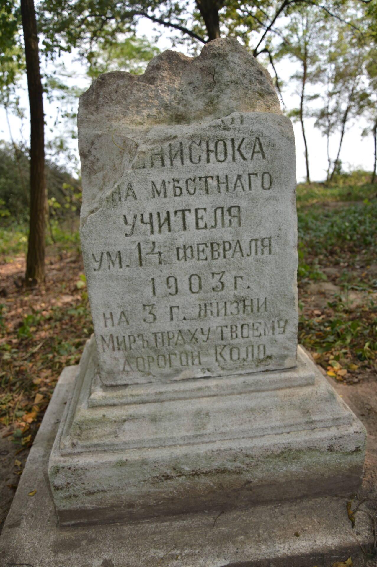 dsc 3408 Zadbajmy o zapomniane cmentarze Zamojszczyzny. Zaproszenie do współpracy.