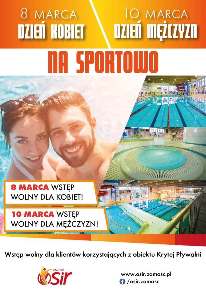 plakat dzien kobiet 02 724x1024 1 ZAMOŚĆ: Panowie popływają za darmo.