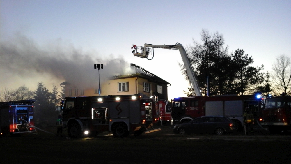 staw2 Pożar budynku mieszkalnego