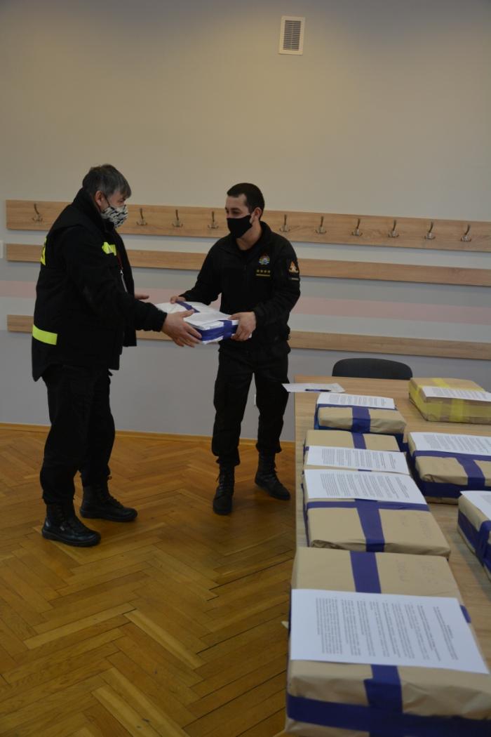 ul1 Strażacy będą kolportować ulotki na temat szczepień przeciw COVID-19