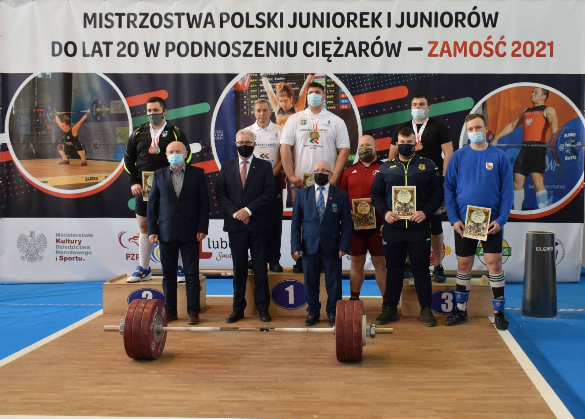 178437027 615354389865921 7162352937631902124 n ZAMOŚĆ: Za nami Mistrzostwa Polski Juniorek i Juniorów do lat 20 w podnoszeniu ciężarów