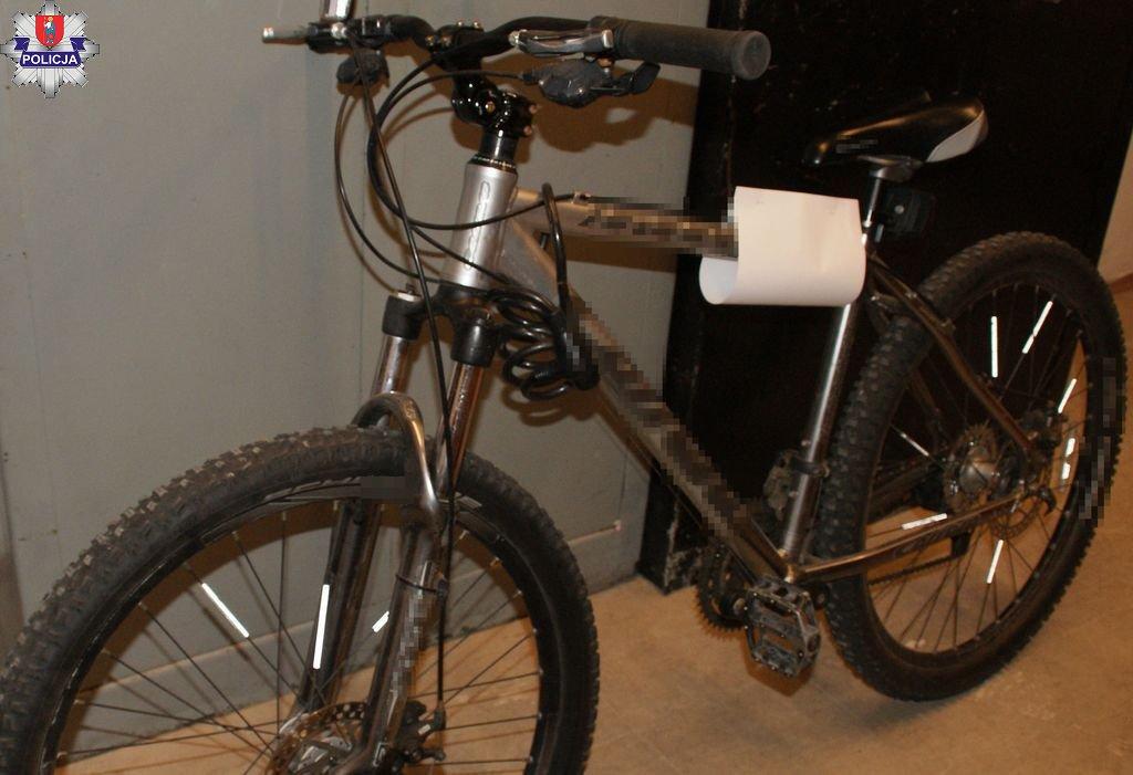 361 183935 ZAMOŚĆ: Poszukiwany właściciel roweru