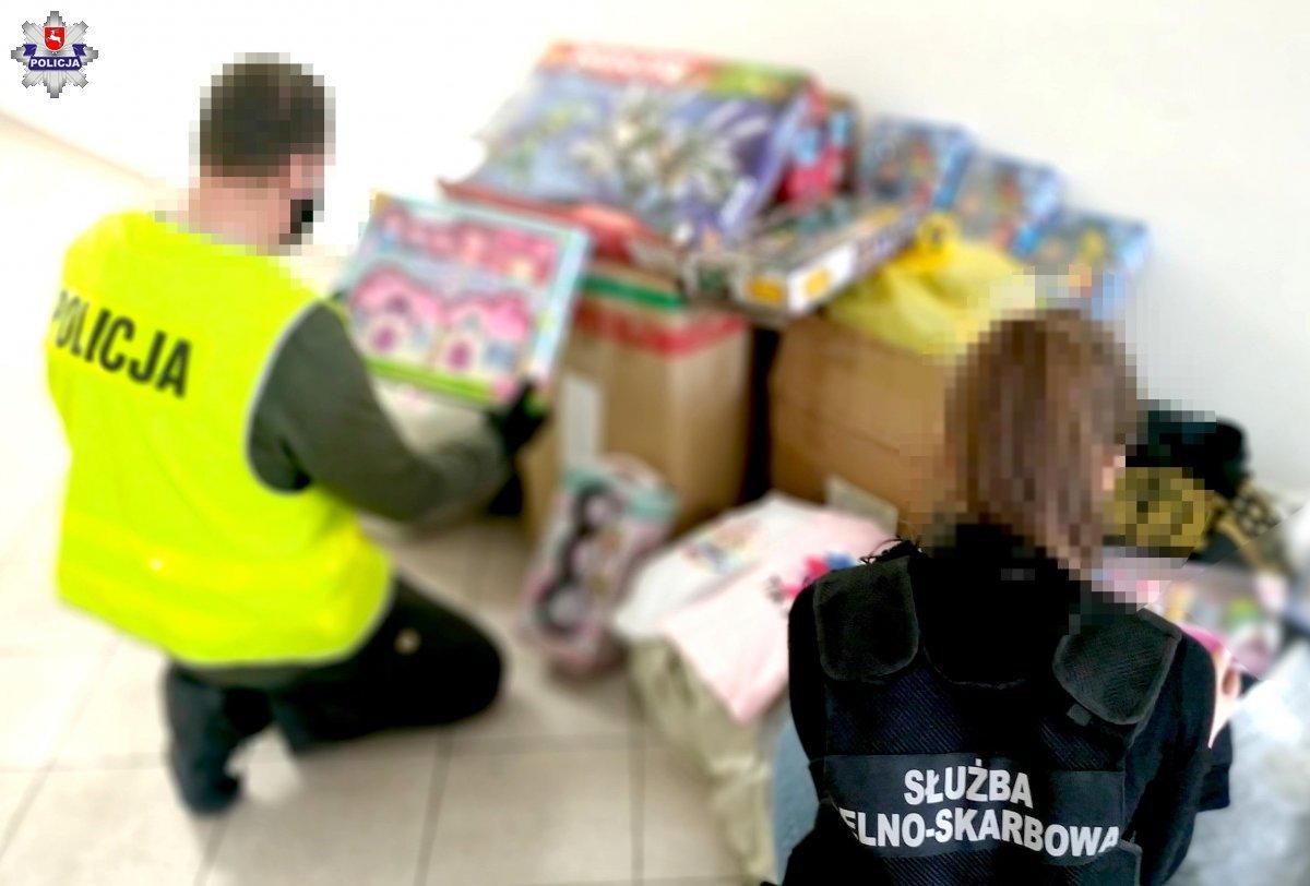 68 183755 Policja zarekwirowała podrabiane zabawki