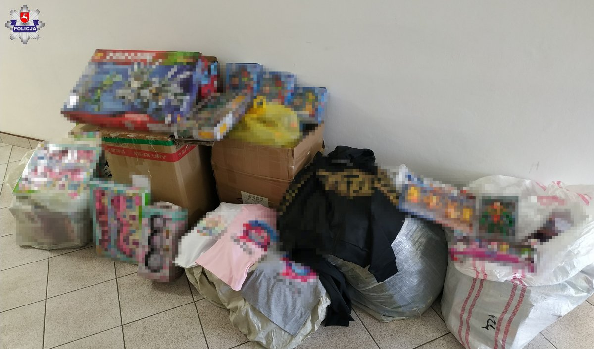 68 183756 Policja zarekwirowała podrabiane zabawki