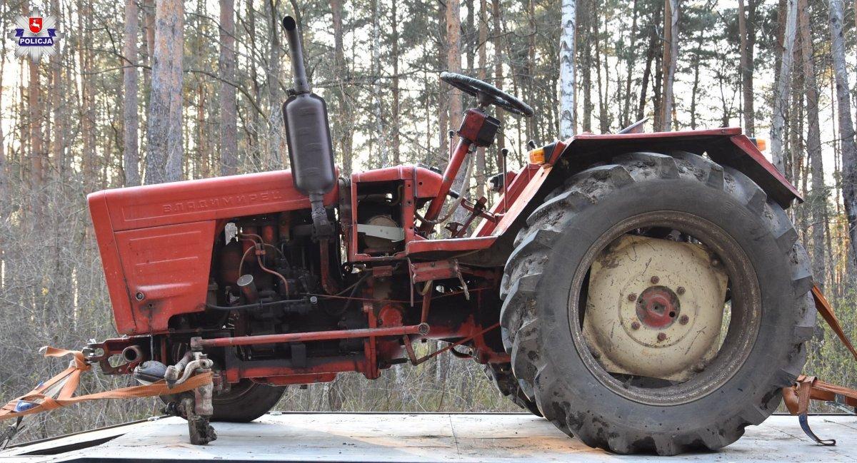 68 184119 Pijany traktorzysta sprawcą kolizji