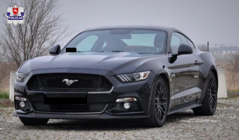 68 184174 Uwaga poszukujemy skradzionego Mustanga - UDOSTĘPNIJ