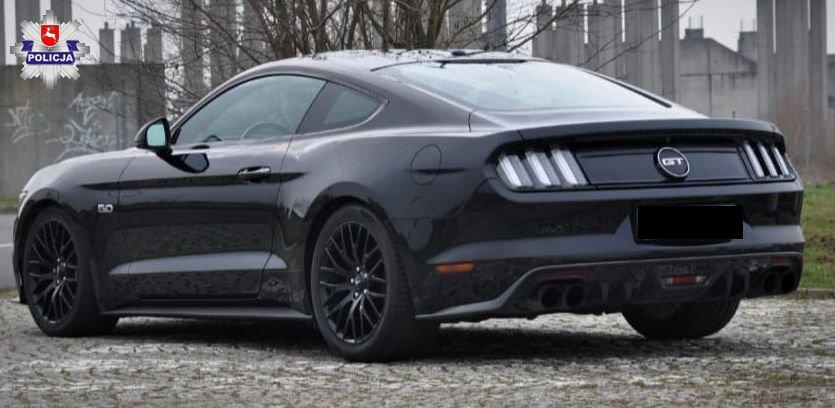 68 184175 Uwaga poszukujemy skradzionego Mustanga - UDOSTĘPNIJ