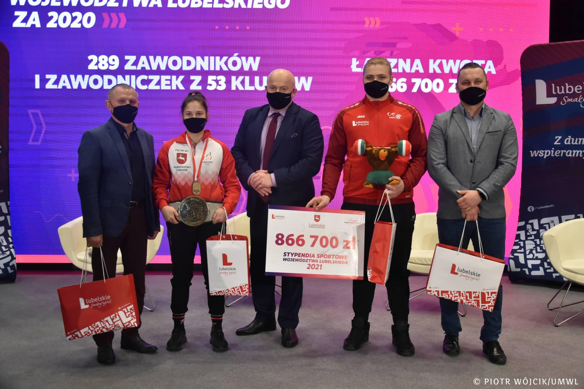 umw 0154 Stypendia sportowe Marszałka Woj. Lubelskiego na rok 2021 przyznane