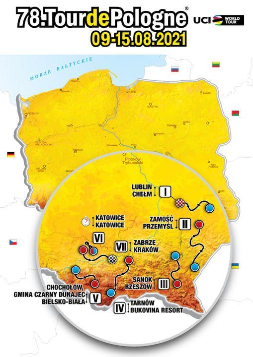 187984168 321164106256940 2714362140650848213 n Zamość na trasie 78. Tour de Pologne! [FILM]