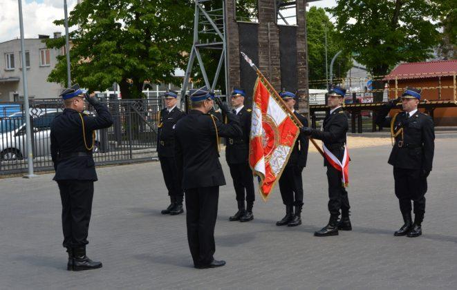 21ds01 Dzień strażaka w Zamościu. Awanse i odznaczenia (zdjęcia)